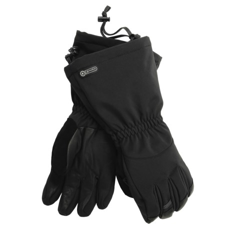 Grandoe Summit Gloves - PrimaLoft®, Waterproof (For Men) in Black