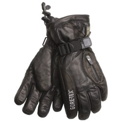 Grandoe Switch Gore-Tex® Gloves - Waterproof, Insulated (For Men) in Black/Black
