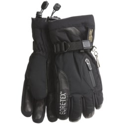 Grandoe Switch Gore-Tex® Gloves - Waterproof, Insulated (For Women) in Black/Eggplant