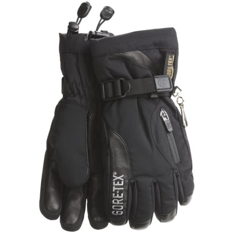 Grandoe Switch Gore-Tex® Gloves - Waterproof, Insulated (For Women) in Black/Black