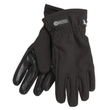 Grandoe Trekker Soft Shell Gloves (For Women) in Black - Closeouts