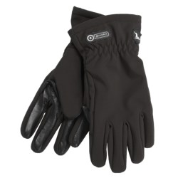 Grandoe Trekker Soft Shell Gloves (For Women) in Black