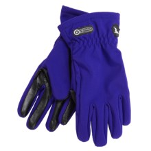 Grandoe Trekker Soft Shell Gloves (For Women) in Ink - Closeouts