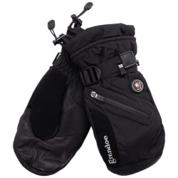 Grandoe Tundra Mittens - Waterproof, Insulated (For Men) in Black/Black