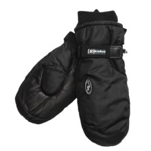 Grandoe Two Pounder Mittens - Insulated (For Men) in Black - Closeouts