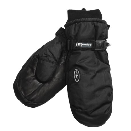 Grandoe Two Pounder Mittens - Insulated (For Men) in Black