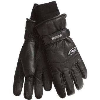 Grandoe Updown Gloves - Waterproof, Insulated (For Women) in Black/Black