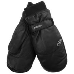 Grandoe Updown Mittens - Waterproof, Insulated (For Men) in Black