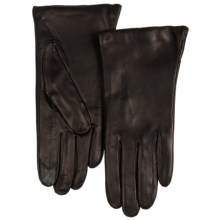 Grandoe WarmTouch Touch Screen Gloves - Sheepskin (For Women) in Black - Closeouts