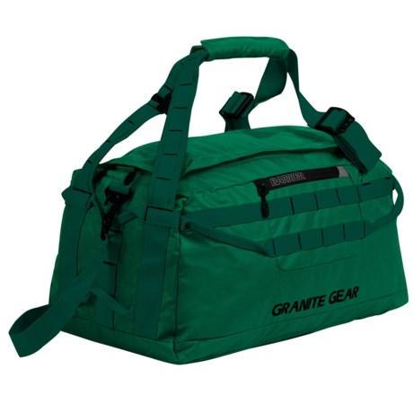 """Granite Gear 20"""" Packable 40L Duffel Bag in Fern/Boreal"""