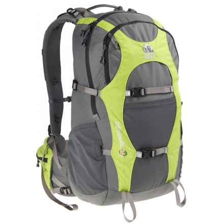 Granite Gear Athabasca 24L Backpack in Grey/Green - Closeouts
