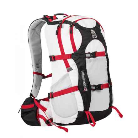 Granite Gear Athabasca 24L Backpack in White/Black/Chromium/Tamarillo - Closeouts