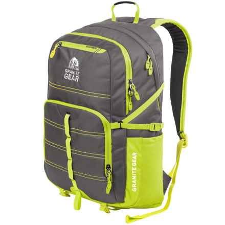 Granite Gear Boundary Backpack in Flint/Neolime - Closeouts