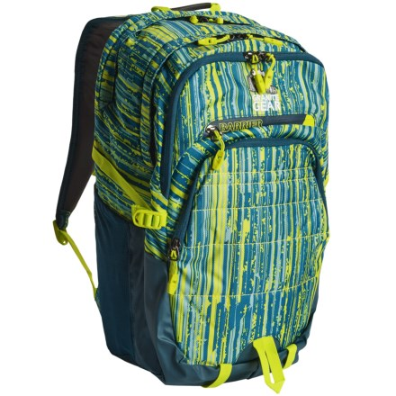 c62f150932d Granite Gear Buffalo 32L Backpack in Linear Metric/Basalt Blue/Neolime -  Closeouts