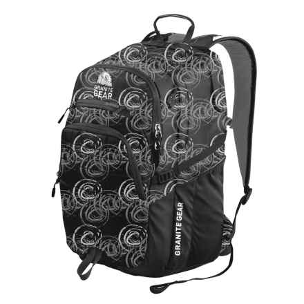 Granite Gear Buffalo Backpack in Circolo/Black/Chromium - Closeouts