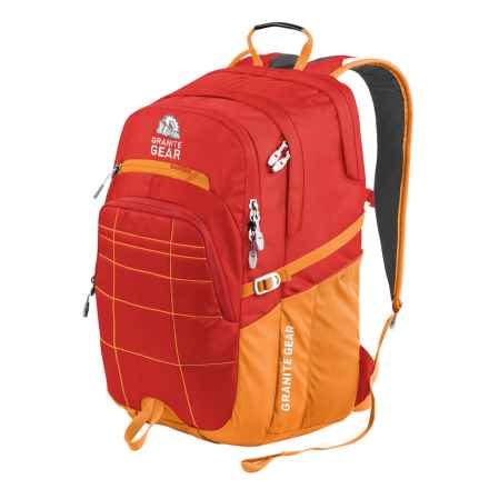 Granite Gear Buffalo Backpack in Ember Orange/Recon - Closeouts