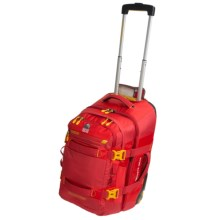 Granite Gear Cross Trek 22 Rolling Carry-On Suitcase with Removable Backpack in Blood Orange/Tamarillo/Saffron - Closeouts