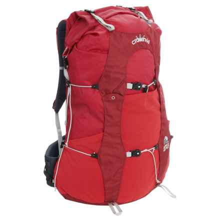 Granite Gear Crown V.C.60  Backpack - Internal Frame in Tamarillo/Blood Orange - Closeouts