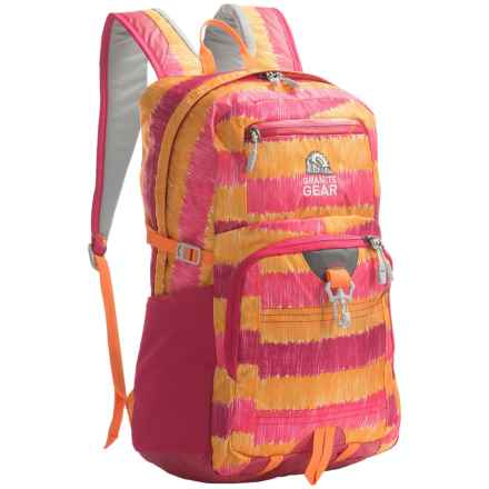 Granite Gear Eagle Backpack in Abstract Noise/Watermelon/Recon - Closeouts