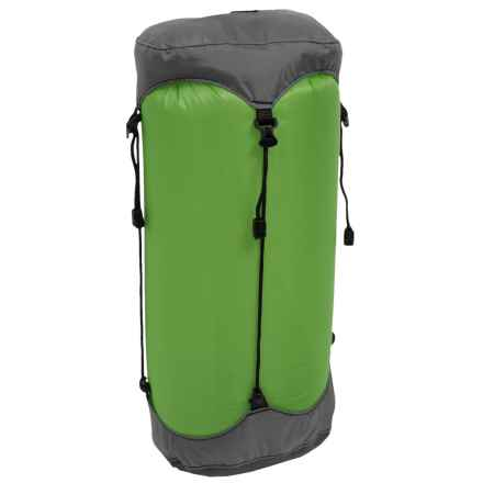 Granite Gear eVent® SIL Compression Dry Sack - 13L, Small in Jasmine Green/Pewter - Closeouts