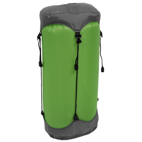 Granite Gear eVent® SIL Compression Dry Sack - 13L, Small in Jasmine Green/Pewter