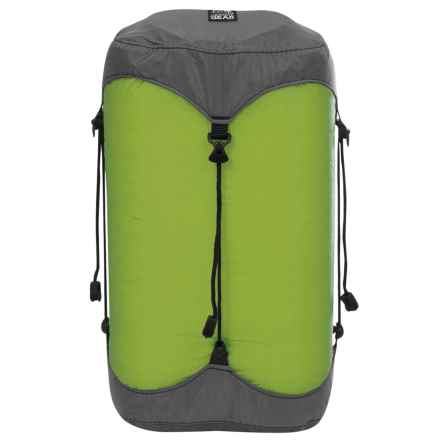 Granite Gear eVent® Sil Compression Dry Sack - 18L in Jasmine Green - Closeouts