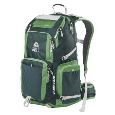Granite Gear Jackfish 38L Backpack in Boreal Green/Moss/Chromium - Closeouts