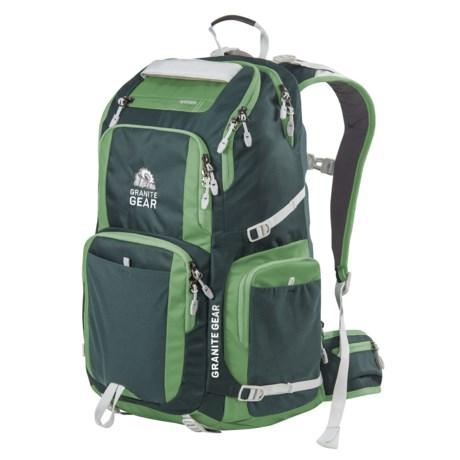 Granite Gear Jackfish 38L Backpack in Boreal Green/Moss/Chromium
