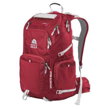 Granite Gear Jackfish 38L Backpack in Redrock/Chromium - Closeouts