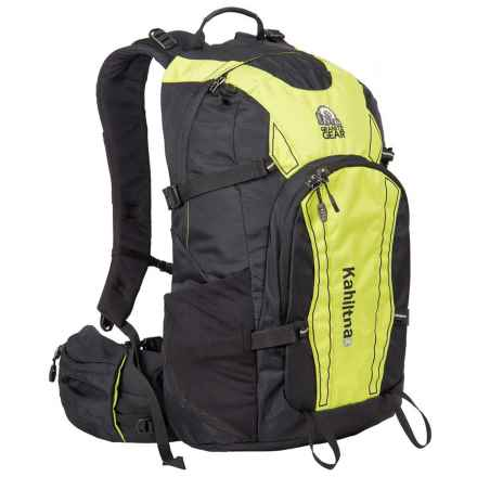 Granite Gear Kahiltna 29L Daypack in Black/Neolime - Closeouts