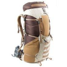Granite Gear Leopard VC 46 Ki Backpack - Internal Frame (For Women) in Oatmeal/Java - Closeouts