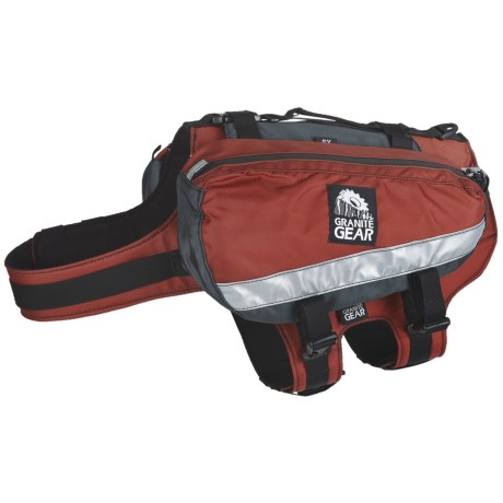 Granite Gear Long Howl Dog Pack - XS in Tiger/Slate