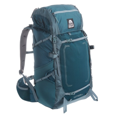 Granite Gear Lutsen 55L Backpack - Internal Frame in Basalt/Rodin