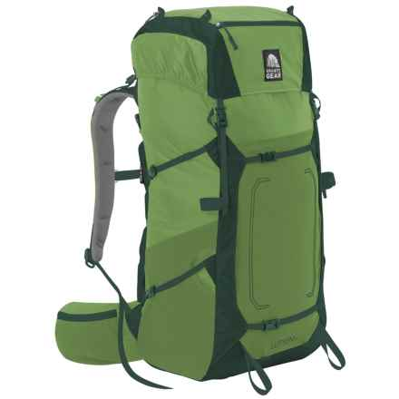 Granite Gear Lutsen 55L Backpack - Internal Frame in Moss/Boreal - Closeouts