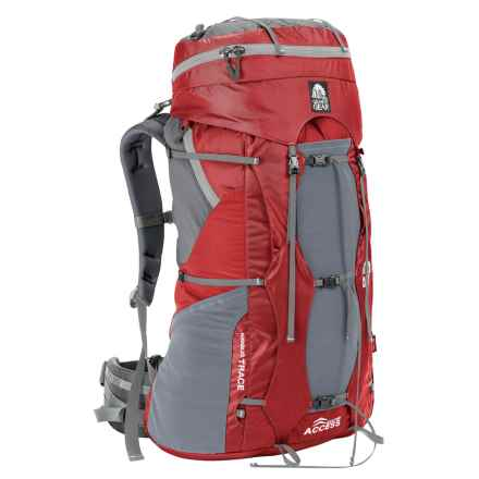 Granite Gear Nimbus Access 60 Backpack in Red/Moonmist - Closeouts