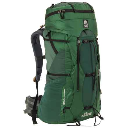 Granite Gear Nimbus Trace Access 60 Backpack - Internal Frame (For Women) in Fern/Boreal/Black - Closeouts