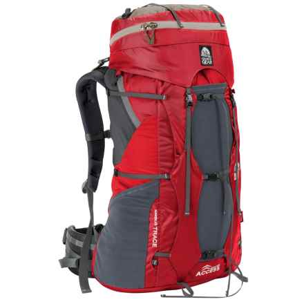 Granite Gear Nimbus Trace Access 60 Backpack - Internal Frame (For Women) in Red/Moonmist - Closeouts