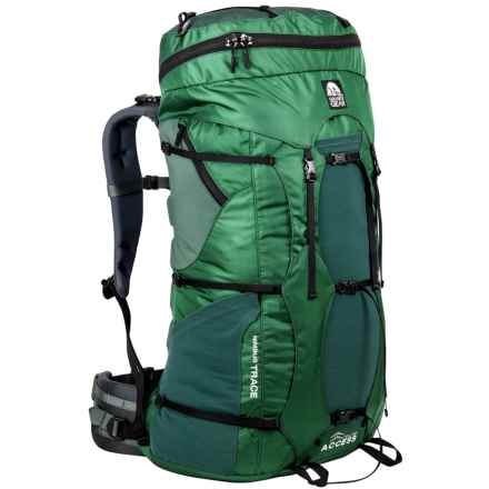 Granite Gear Nimbus Trace Access 70 Backpack in Fern/Boreal/Black /Dark Slate - Closeouts