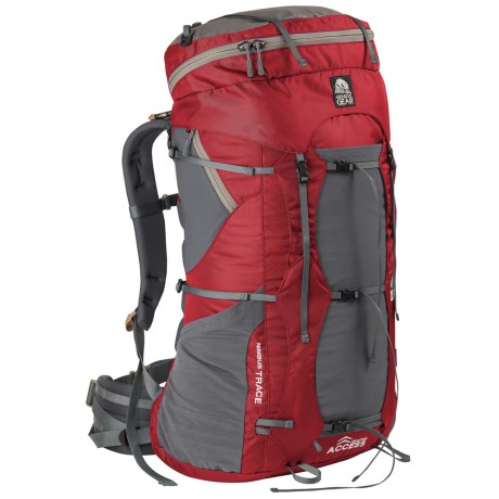 Granite Gear Nimbus Trace Access 85 Backpack in Red/Moonmist