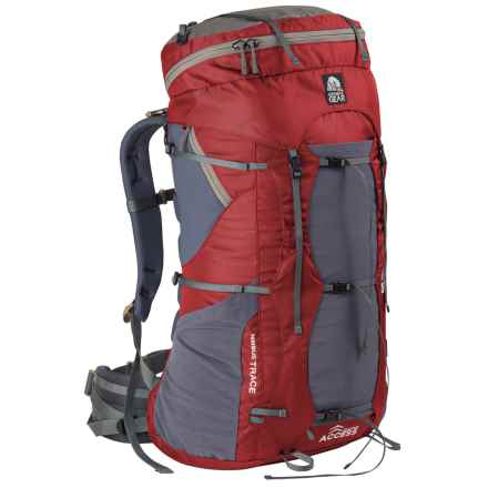 Granite Gear Nimbus Trace Access 85 Backpack - Internal Frame (For Women) in Red/Moonmist - Closeouts