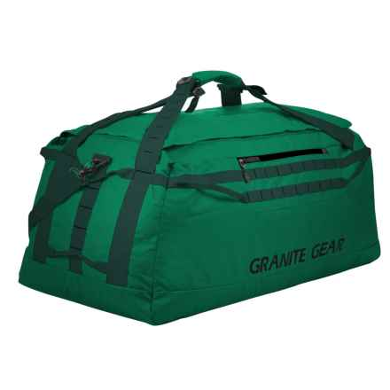 "Granite Gear Packable 140L Duffel Bag - 36"" in Fern/Boreal - Closeouts"