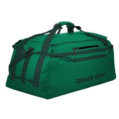 """Granite Gear Packable 140L Duffel Bag - 36"""" in Fern/Boreal"""
