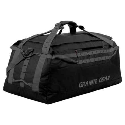 """Granite Gear Packable Duffel - 36"""" in Black/Flint - Closeouts"""