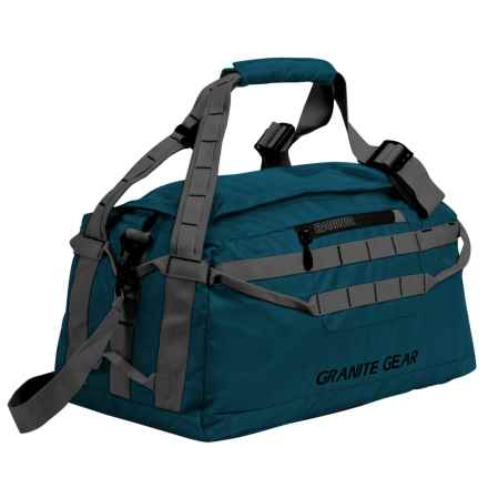 "Granite Gear Packable Duffel Bag - 20"" in Basalt/Flint - Closeouts"