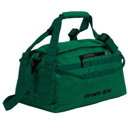 """Granite Gear Packable Duffel Bag - 20"""" in Fern/Boreal - Closeouts"""