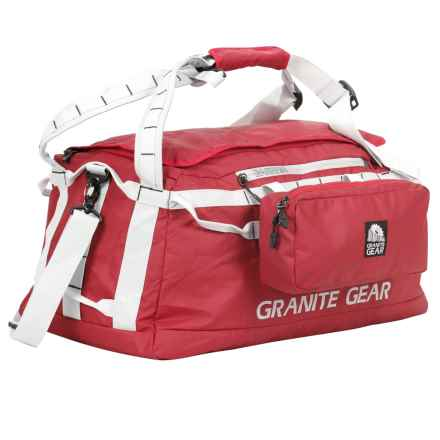 "Granite Gear Packable Duffel Bag - 20"" in Redrock/Chromium - Closeouts"
