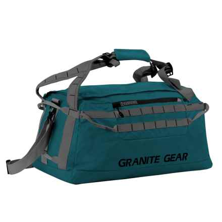 "Granite Gear Packable Duffel Bag - 24"" in Basalt/Flint - Closeouts"