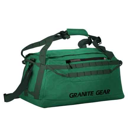 "Granite Gear Packable Duffel Bag - 24"" in Fern/Boreal - Closeouts"