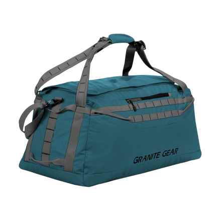 "Granite Gear Packable Duffel Bag - 30"" in Basalt Blue/Flint - Closeouts"