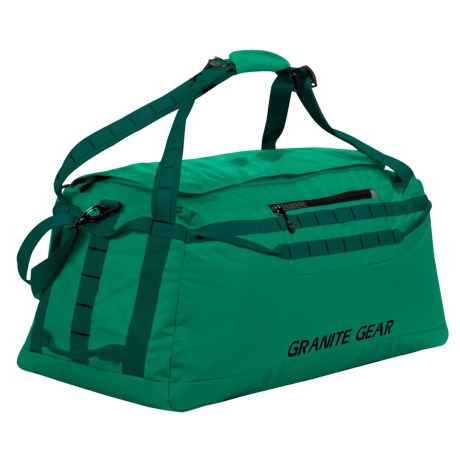 """Granite Gear Packable Duffel Bag - 30"""" in Fern/Boreal"""